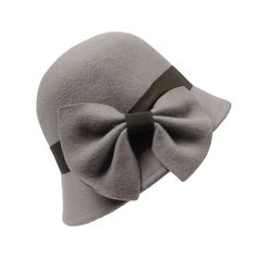 Cloche with Tilted Bow