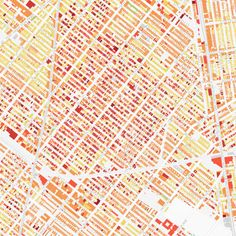 Thomas Riehl: BKLYNR: Mapping the Age of each Building in Brooklyn