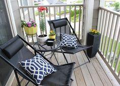 decorar separadores de cristal de balcones | 15 Fotos de balcones | Ideas para decorar, diseñar y mejorar tu casa.