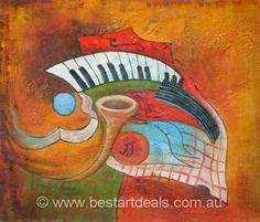 Abstract Oil Paintings. http://bestartdeals.com.au
