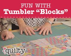 How to Make Tumbler Blocks with Marianne Fons