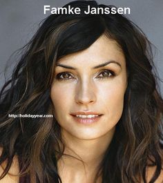 Nov 5 - Famke Janssen, Dutch actress and former fashion model was Born Today. For more famous birthdays http://holidayyear.com/birthdays/