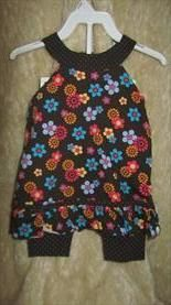 StorkBrokers.com: Girls 2pc spring/summer outfit by Miniwear 18m, Baby, $4.00