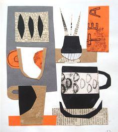 Collages — Jules Anson Illustration Techniques, Collage Illustration, Graphic Design Illustration, Simple Collage, Create Collage, Collages, Art Haus, Paper Collage Art, Newspaper Art