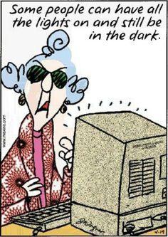 Y'a des gens qui peuvent avoir toutes les lumières allumées et qui continuent pourtant à être dans le noir !