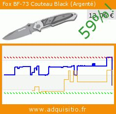 Fox BF-73 Couteau Black (Argenté) (Sport). Réduction de 59%! Prix actuel 13,06 €, l'ancien prix était de 31,95 €. http://www.adquisitio.fr/fox/bf-73-couteau-black