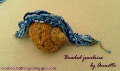 Гарненькі бісерні штучки | Beaded jewelries by Annette: Лазурна блакить. Частина перша: Тихий океан