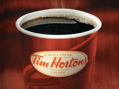 Tim Horton's - If you're from Michigan (or Canada) you know this is better than Starbucks.