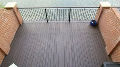 Application of two (very light) coats of Osmo Natural Oil Woodstain 727, with a top coat of 430 Anti-Slip Decking Oil.