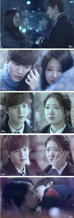 Lee Min Ho and Park Shin Hye | The Heirs