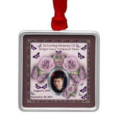 Bridget Grace Girlfriend Slider Memorial Ornament