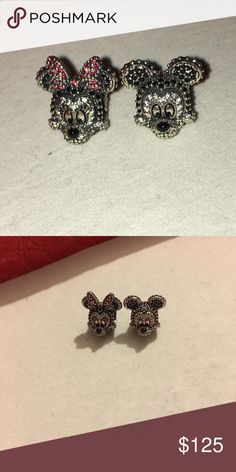 BN Pandora Disney Limited Edition CZ Mick/minn 2!!! Gorgeous Authentic LE cz  Mickey bead and Minnie beads made of colorful cz's. They are in their special LE boxes. Pandora Jewelry