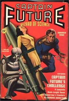 Captain Future, Wizard of Science