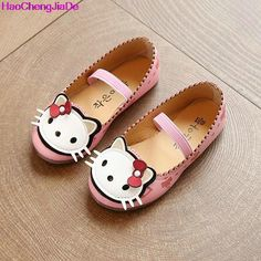 >> Click to Buy << Children Princess Shoes Pink/Red/White Band Soft Sole PU Leather Fashion Bowknot Kids Children's Cartoon Kitty Flats Sandals 104 #Affiliate
