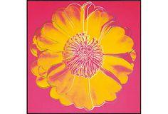 Warhol, Flower Tacoma Dome on OneKingsLane.com