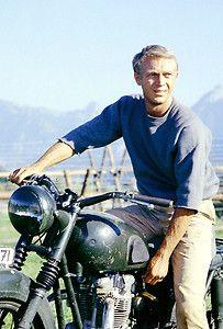steve mcqueen motorcycle - Google Search