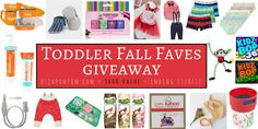 Enter to win US Japan Fam's $600 value Toddler Fall Faves Giveaway!