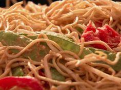 Sesame Peanut Noodles recipe from Nigella Lawson via Food Network