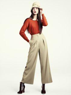 H&M Women's Fall 2011 Lookbook