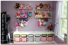 The Real Thing with the Coake Family: Toy Storage: Kid's Playroom Reorganization
