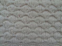 Bowknot stitch pattern