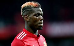 Download wallpapers Paul Pogba, French footballer, portrait, Manchester United, football star, Premier League, England