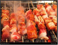 양꼬치, Korea Food, Essen, Meals, Yemek, Eten
