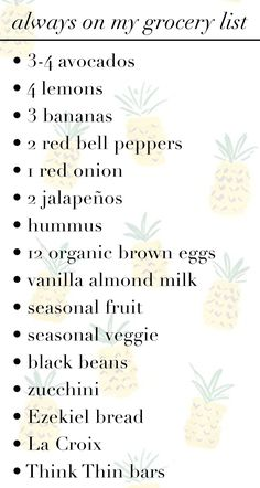 I have this random obsession with what other people buy at the grocery store or keep in their pantry. In fact, and you can ask my friends, I frequently peek into refrigerators to see what's stocked. I just love knowing what other people consider their go-to items. So, I thought I'd share what's always on […]