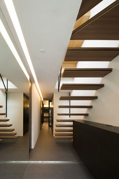 """According to the architect, the symmetry of this house creates a """"distinct formality, like a church"""""""