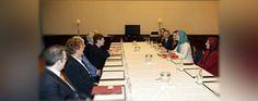 The President-elect of the Iranian Resistance, Mrs. Maryam Rajavi , met a number of delegations from the German Parliament (Bundestag) in addition to other political personalities during a trip to Berlin More  http://www.mojahedin.org/newsen/33806/