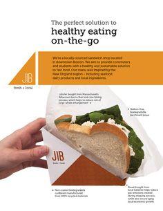 Jib - Sandwich Packaging on Behance - food packaging - Sandwich Fastfood Packaging, Sandwich Packaging, Food Truck Design, Food Design, Sandwich Delivery, Burger Co, Veggie Sandwich, Sandwich Shops, Thing 1