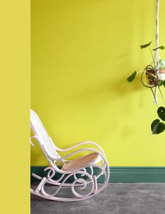 Almost Ripe: On the verge of green, this complex yellow hue was inspired by Brazil's abundant banana production. Bright, energetic, and bold, this color calms when paired with soft hues like light pink and grounding greens. Latitude Longitude, Trends, Hue, Brazil, Yellow, Palette, Inspiration, Colors, Design