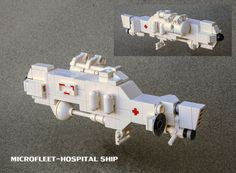 """""""MICROFLEET-Hospital Ship"""" by ska2d2: Pimped from Flickr"""