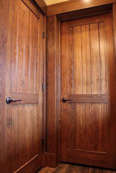Log Cabin Interior Doors   Google Search