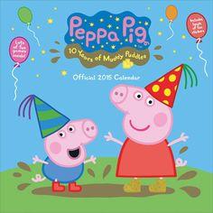 Peppa Pig Calendar 2015 | Buy Calendars Online | CalendarClub.co.uk ...