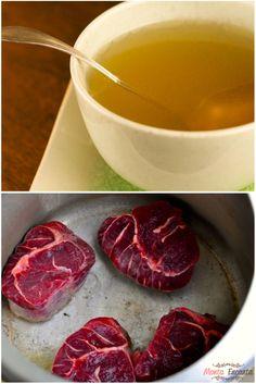 Caldo de Carne, Os caldos de carne, peixe aves e legumes são a base de inúmeros pratos. Não se faz por exemplo, um bom risoto sem um bom caldo.