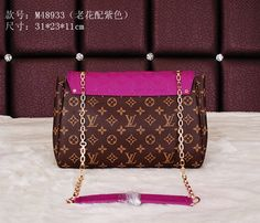 Replica Louis Vuitton LV  Monogram Canvas and Leather, Size W31H23D11CM Famous Brand Handbags