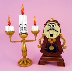 Lumière and Cogsworth
