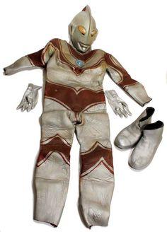 The remains of ULTRAMAN JACK (Return of Ultraman)