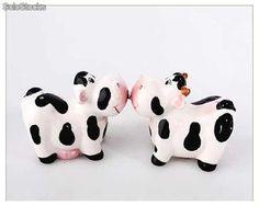 Vacas porcelana