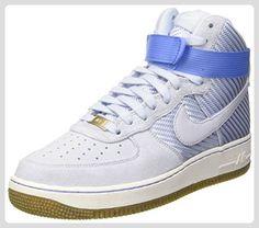timeless design 037e9 2b399 Nike Women s Air Force 1 Hi Prm Porpoise Basketball Shoe (Porpoise Gum  Light Brown Summit White Porpoise, 11 B(M) US)