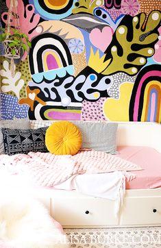 Alisaburke: Lucyu0027s Room Makeover Passende Farben, Zuhause, Malerei,  Kreativ, Minimaldekor,