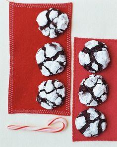 chocolate-espresso crinkle cookies