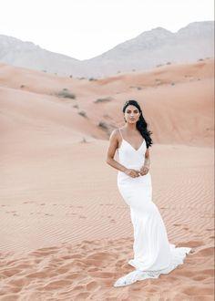 Chic Elopement in the Arabian Desert – Effleurer Photo 25