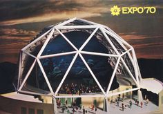 Design is fine. History is mine. — Postcards from Expo 70 in Osaka, 1970. Japan. The...
