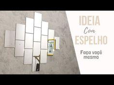 Mirror Art, Art Decor, Bar Chart, House, Amanda, Youtube, Cheap Mirrors, Handmade Home Decor, Home Decor Ideas