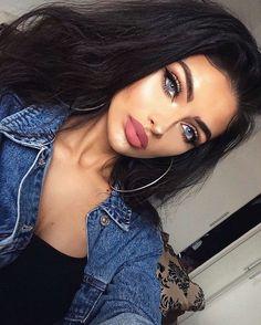 Improve makeup with these natural gorgeous makeup ! is part of eye-makeup - Improve makeup with these natural gorgeous makeup ! Beauty Makeup, Face Makeup, Hair Beauty, Gina Lorena, Pinterest Makeup, Make Up Looks, Brunette Beauty, Gorgeous Makeup, Pretty Makeup