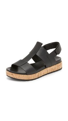d4c431d04c06 Sigerson Morrison Cabie Flatform Sandals Shoes Flats Sandals