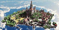 Terados   Castle and Village   Minecraft Building Inc