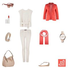 Coral Minimalist http://www.3compliments.de/outfit?id=129585616